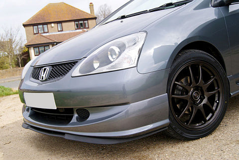 Honda Civic Si SiR Cupra R Design Front Spoiler Lip