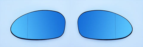 BMW Pre-LCI Euro Mirror Glasses Blue Heated Aspheric / Convex