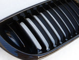 BMW E46 LCI 4D Carbon Black Grills 02-05