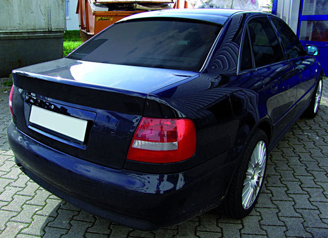 audi a4 s4 rs4 b5 rear window roof extension spoiler. Black Bedroom Furniture Sets. Home Design Ideas
