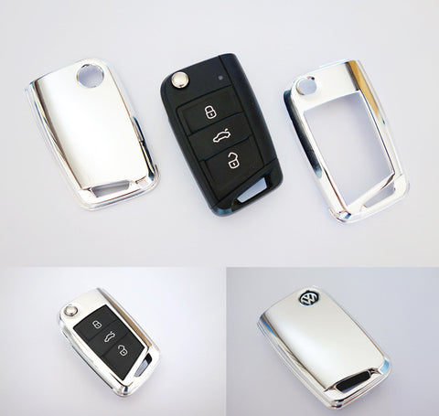 VW Remote Key Cover Chrome 2015-
