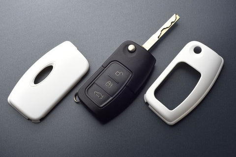 Ford Remote Key Cover White 05-
