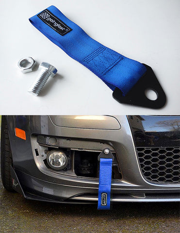 Universal Tow Strap Blue