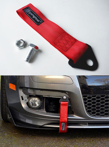 Universal Tow Strap Red