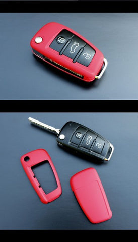Audi Remote Key Cover Red