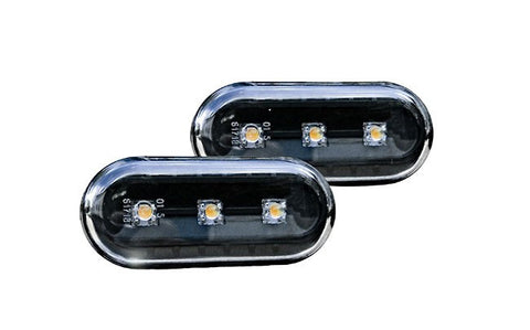 VW Black Fender LED Turn Signals