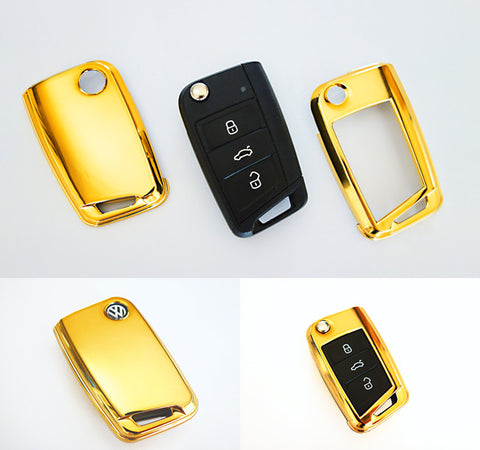VW Remote Key Cover Gold 2015-