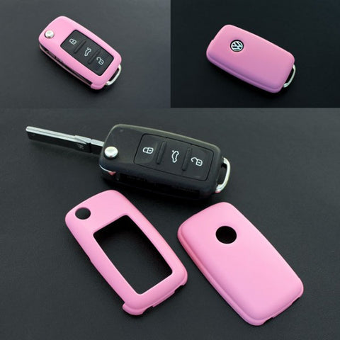 VW Remote Key Cover Pink 11/09-