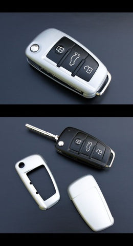 Audi Remote Key Cover Silver