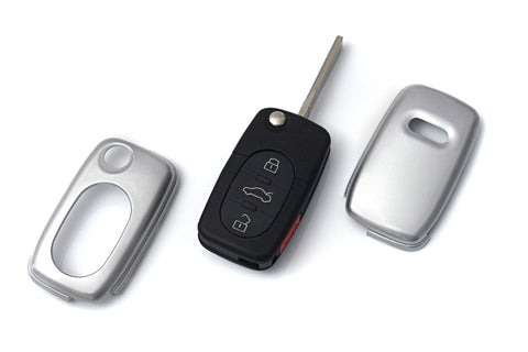 Early Audi Remote Key Cover Silver