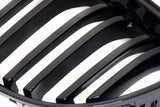 BMW E90 E91 LCI 4D Gloss Black Grills 09-11