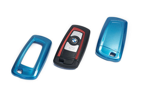 BMW Remote Key Cover Blue