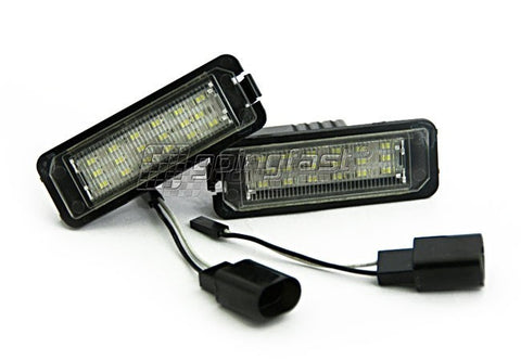 VW Golf MK7 LED License Plate Lights