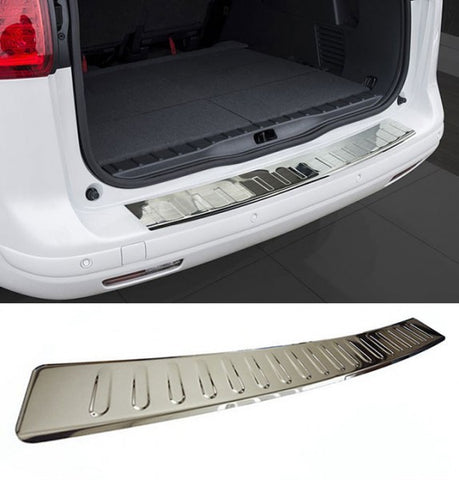 BMW F10 Stainless Steel Rear Bumper Protector
