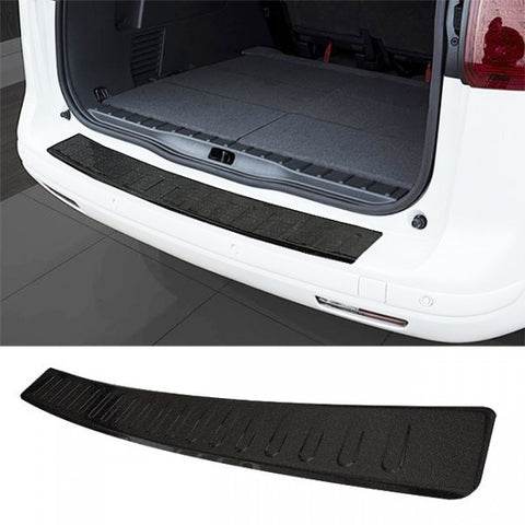 VW Golf MK7 Sportwagon Stainless Steel Rear Bumper Protector Black