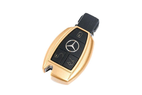 Mercedes Benz Remote Key Cover Gold Paint
