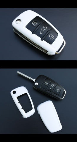 Audi Remote Key Cover White