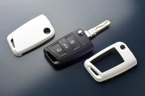 VW Remote Key Cover White 2015-
