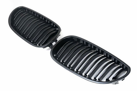 BMW E60 E61 M5 Gloss Black Grills 04-10