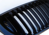 BMW E46 LCI 4D Gloss Black Grills 02-05