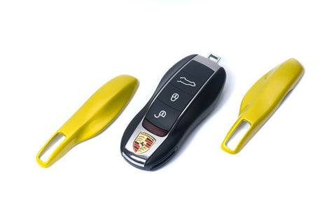 Porsche Remote Key Cover Metallic Yellow