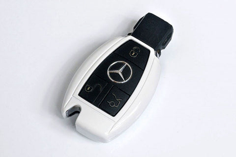 Mercedes Benz Remote Key Cover White