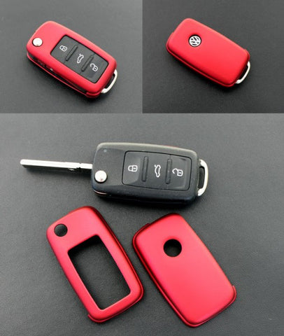 VW Remote Key Cover Metallic Red 11/09-
