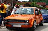 VW Rabbit MK1 / Golf Grill + Grill Spoiler 75-93