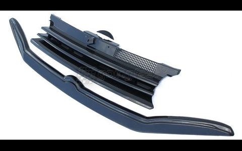VW Golf MK4 Grill + Grill Spoiler 99-05