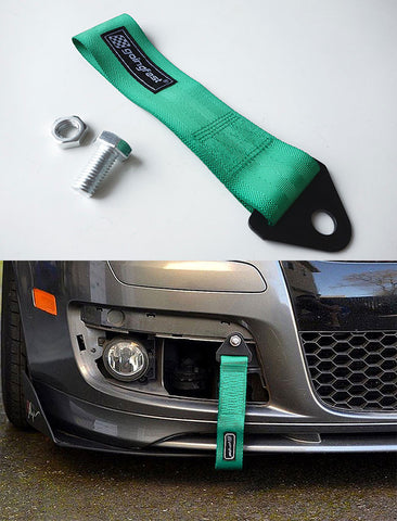 Universal Tow Strap Green