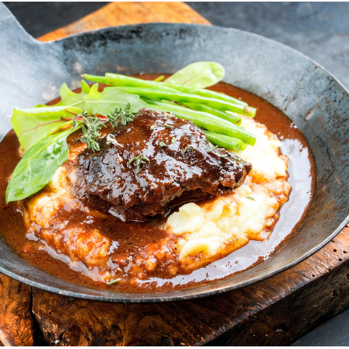 Braised Oyster Blade Steak