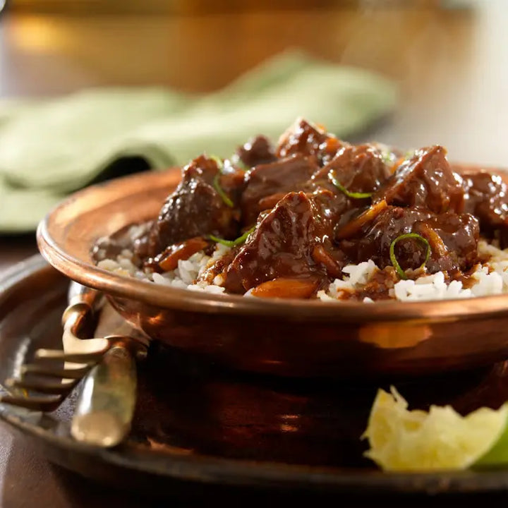 Cider and Beer Braised Pork with Chocolate Mole