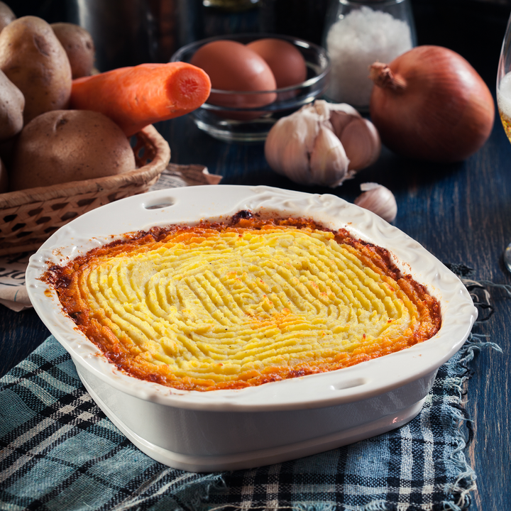 Cheesy Topped Cottage Pie