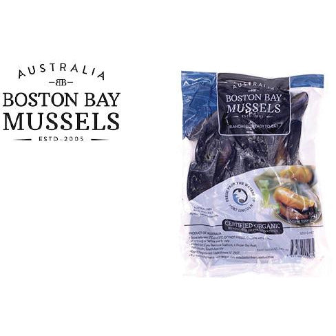 Boston Bay Mussels 500g