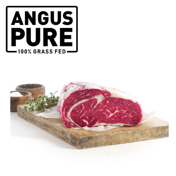 Angus Pure Grass Fed Cube Roll Whole (2.8-3.2kg)