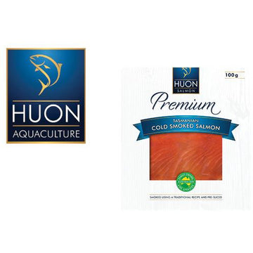 Huon Cold Smoked Salmon 100g