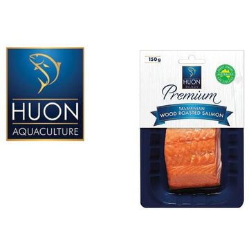 Huon Hot Roasted Salmon Portion 150g