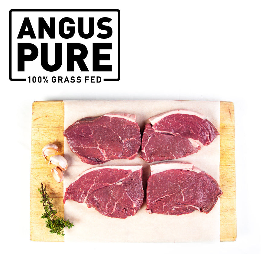 Angus Pure Grass Fed Rump Steaks (4 x 250g)