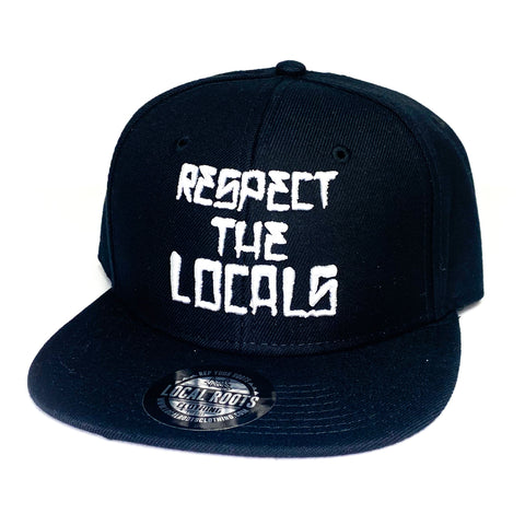 Local Roots Respect Snapback Black