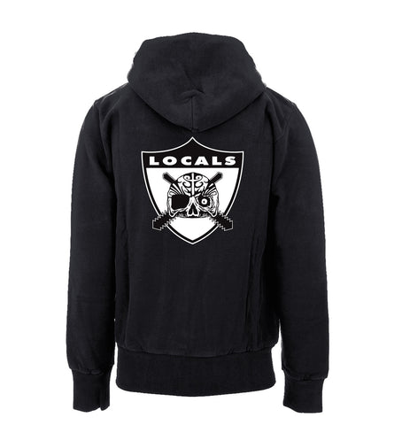 Local Roots Beware of Locals Zip Hoodie
