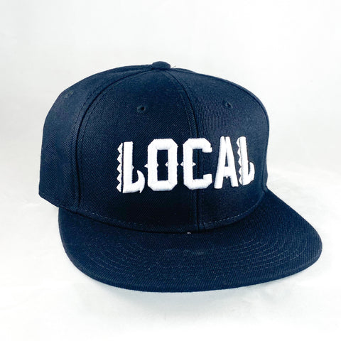 Local Roots Makau Snap Back Black
