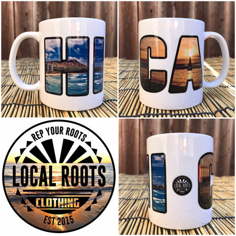 Local Roots HI\CA Coffee Mug