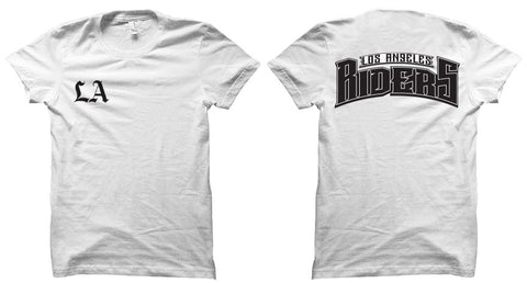 LA Riders Rocker Tshirt White
