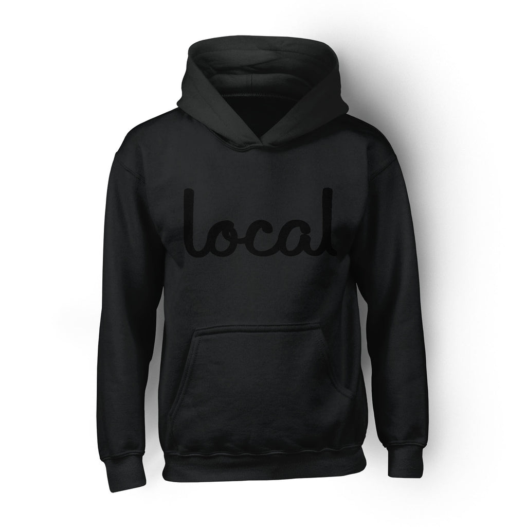 Local Roots Script  Hoodie