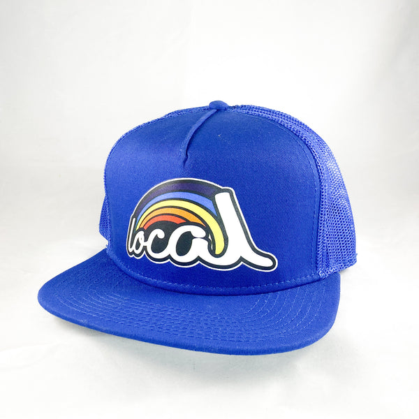 Local Roots Rainbow Trucker Hat