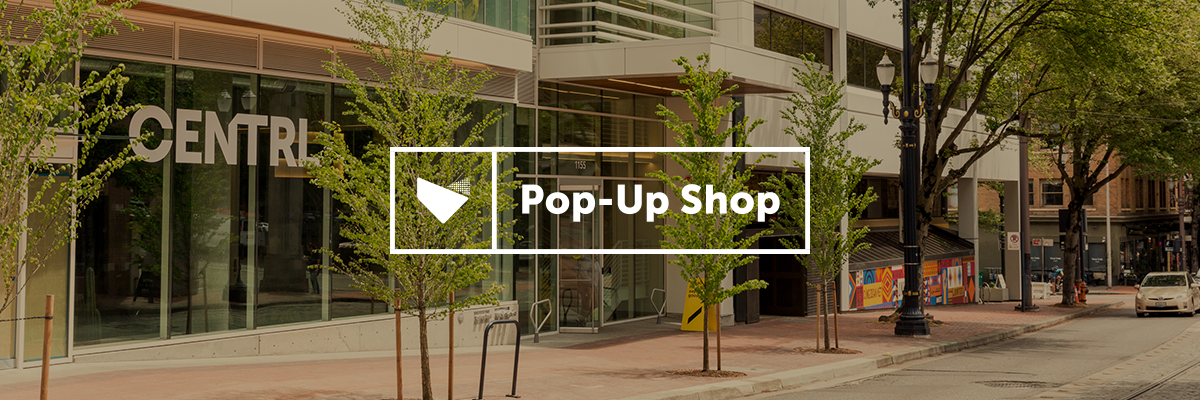 Pop-Up Shop at CENTRL Office Downtown