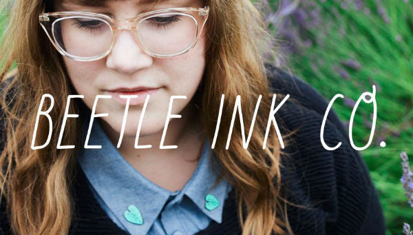 Beetle Ink Co. at Tender Loving Empire