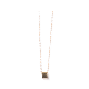 Baleen - Single Square Necklace