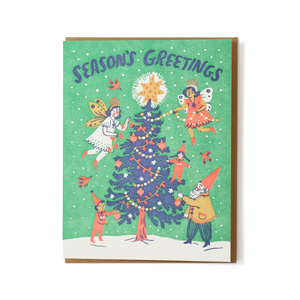 Phoebe Wahl: Seasons Greetings Card