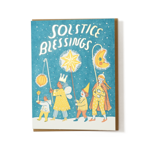 Phoebe Wahl: Solstice Blessings Card